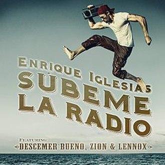Súbeme la Radio - Image: Subeme La Radio Single