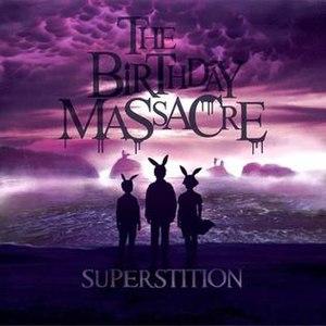 Superstition (The Birthday Massacre album) - Image: Superstition album cover