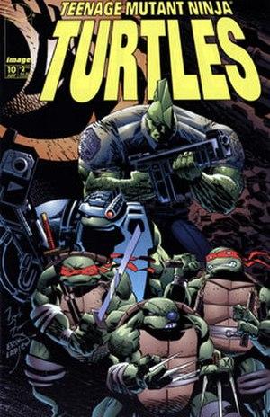 Teenage Mutant Ninja Turtles (Mirage Studios) - Image: TMNTV3No 10