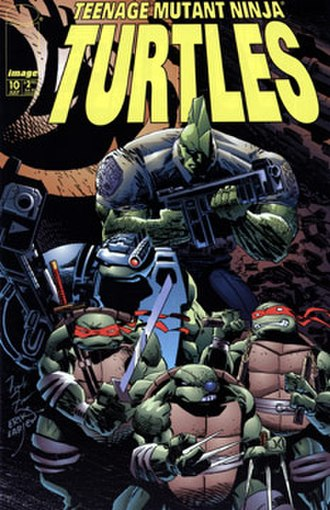 Teenage Mutant Ninja Turtles (Mirage Studios) - Image: TMNTV3No 10