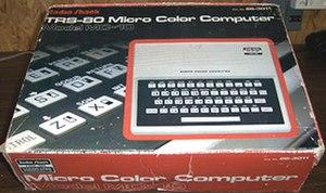 TRS-80 MC-10 - Image: TRS 80 Model MC 10 Original Box