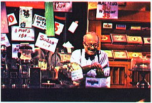 Will Lee - Lee as Mr. Hooper on Sesame Street