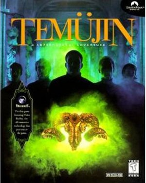 Temüjin (video game) - Image: Temujincover