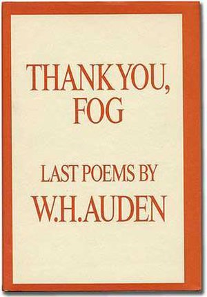 Thank You, Fog - First US edition (publ. Random House)