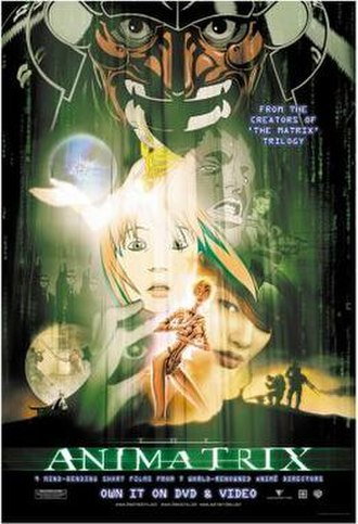 The Animatrix - Home video release poster
