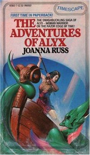 The Adventures of Alyx - Image: The Adventures of Alyx (book) cover