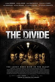 <i>The Divide</i> (2011 film) 2011 post-apocalyptic horror film directed by Xavier Gens