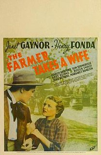 <i>The Farmer Takes a Wife</i> (1935 film) 1935 film by Victor Fleming