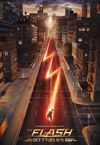 Pilot (The Flash) - Promotional poster for the Pilot