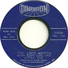 The Loco-Motion by Little Eva 1962 US vinyl A-side.jpg