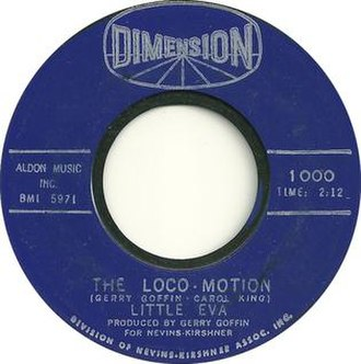 The Loco-Motion - Image: The Loco Motion by Little Eva 1962 US vinyl A side