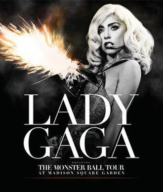 Lady Gaga Presents the Monster Ball Tour: At Madison Square Garden - DVD and Blu-ray cover