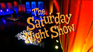 <i>The Saturday Night Show</i> television series