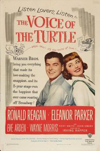 The Voice of the Turtle (film) - Image: The Voice of the Turtle Film Poster
