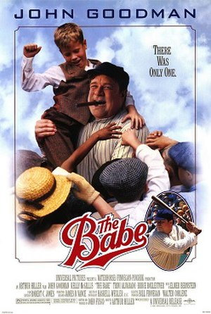 The Babe - Theatrical release poster