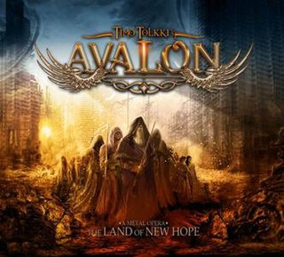 <i>The Land of New Hope</i> 2013 studio album by Avalon