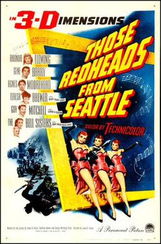 Those Redheads from Seattle - Image: Those Redheads from Seattle film poster