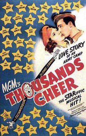 Thousands Cheer - Theatrical release poster