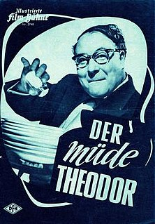 <i>Tired Theodore</i> (1957 film) 1957 film