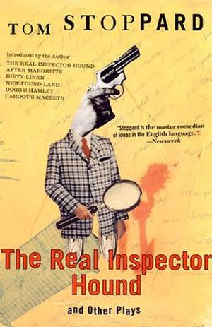 The Real Inspector Hound - Image: Tom Stoppard's The Real Inspector Hound
