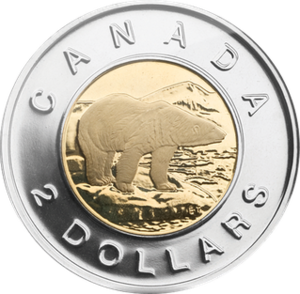 Canadian 2 dollar coin