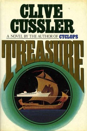 Treasure (Cussler novel) - Hardcover first Edition