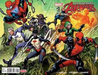 Uncanny Avengers - Image: Uncanny avg v 3 01