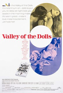 <i>Valley of the Dolls</i> (film) 1967 film directed by Mark Robson