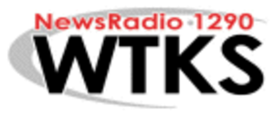 WTKS (AM) - former logo before simulcast on 97.7 FM