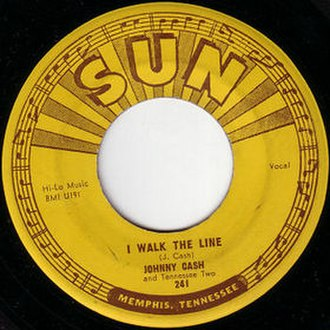 I Walk the Line - Image: Walk The Line 1956