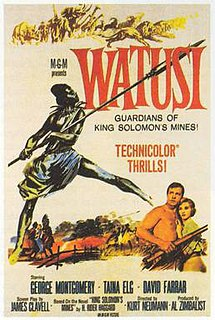 <i>Watusi</i> (film) 1959 film by Kurt Neumann