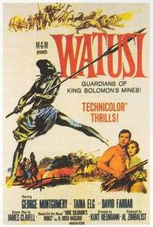 Watusi (film) - Wikipedia