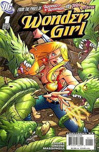 Wonder Girl - Image: Wonder Girl 1