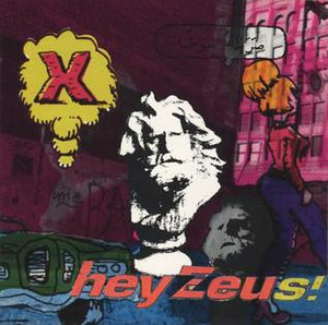 hey Zeus! album cover