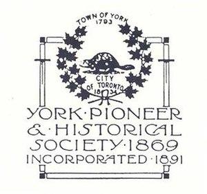 York Pioneers - Image: Yorkpioneerslogo