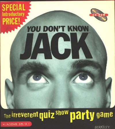 Picture of a game: You Don't Know Jack