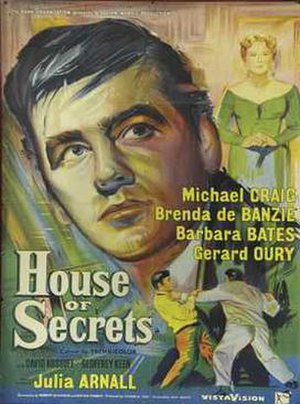 House of Secrets (1956 film) - UK theatrical poster