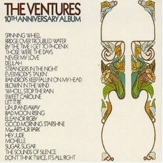 10th Anniversary Album (The Ventures album) - Image: 10th anniversay album ventures