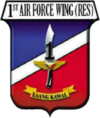 1st Ready Reserve Air Wing - Image: 1st Ready Reserve Air Wing, Philippines Air Force logo
