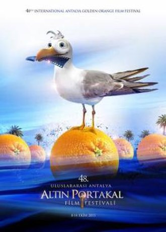 48th International Antalya Golden Orange Film Festival - Festival Poster