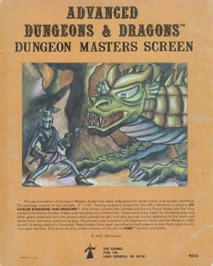 Dungeons dragons basic set wikivisually dungeon masters screen 1st edition dungeon masters screen fandeluxe Gallery