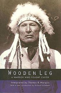 Wooden Leg Northern Cheyenne warrior