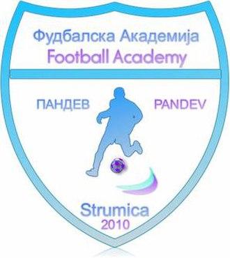 Akademija Pandev - Academy's logo until 2017