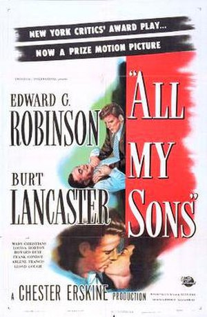 All My Sons (film) - Theatrical release poster
