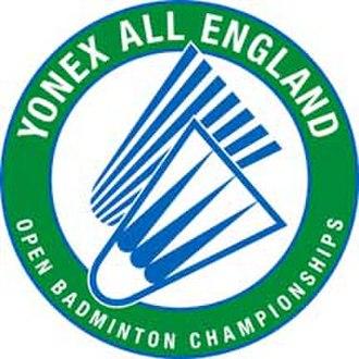 All England Open Badminton Championships - Yonex All-England official logo