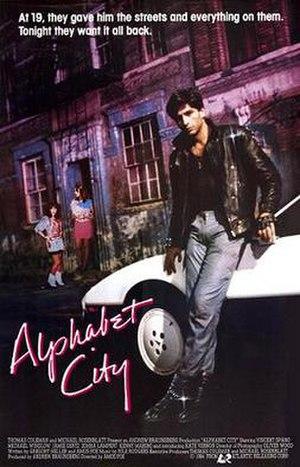 Alphabet City (film) - Promotional film poster
