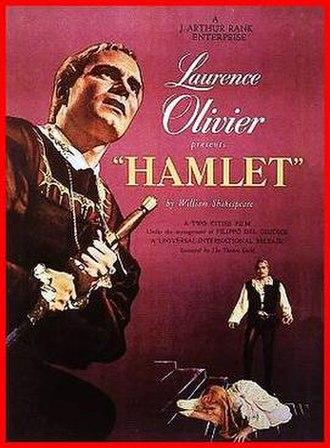 Hamlet (1948 film) - theatrical poster