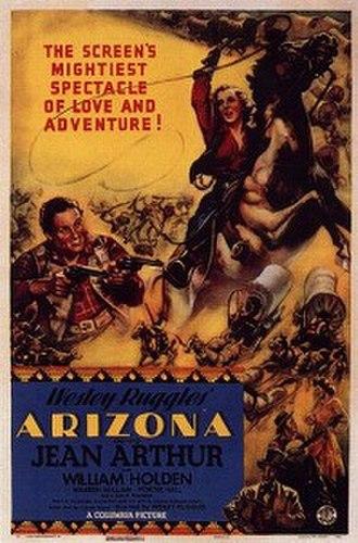Arizona (1940 film) - Theatrical release poster.