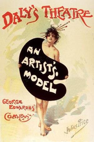 An Artist's Model - Poster, 1895
