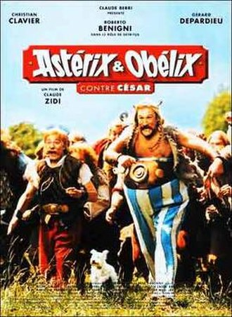 Asterix & Obelix Take On Caesar - French theatrical poster
